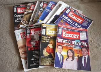 czasopisma Do Rzeczy nowa cena
