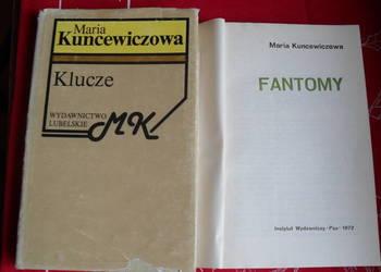 Maria Kuncewiczowa - 2 książki