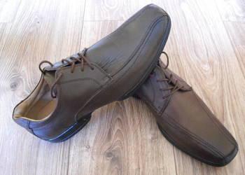 Buty DENVER HAYES 44/45 29cm pantofle Skóra* Nowe wojas/ecco, używany na sprzedaż  Białystok