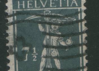 Zn. Szwajcaria Mi 138 III  kas 1915