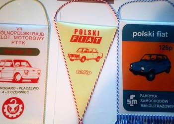 Proporczyki Polski Fiat 125p i 126p