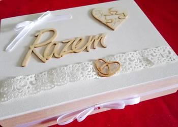 Pudełeczko na ślub ślubne Ślubny prezent rocznica rocznice