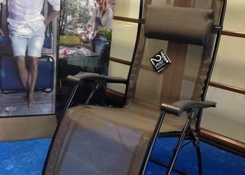 Leżak składany Lafuma RSXA LFM1794 Graphite Tube Noir