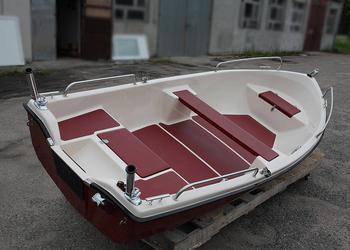 Łódź wiosłowo motorowa MURENA 380 łódka łodzie