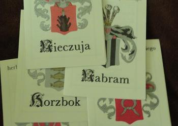 Herby Rycerstwa Polskiego - 5 broszur