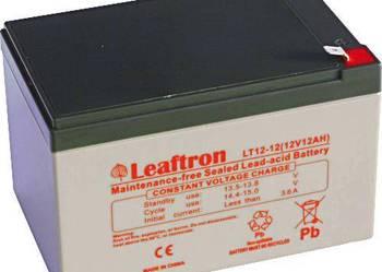 Akumulator Leaftron/Yuasa 12V 12Ah Rower elektryczny
