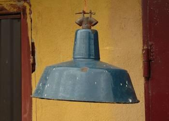 Lampa emaliowana wisząca LOFT