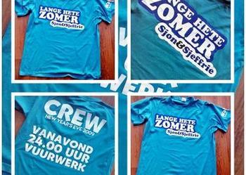 Turkusowy T-shirt rozmiar M