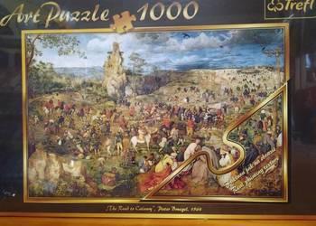 Puzzle art Droga na Kalwarię - 1000