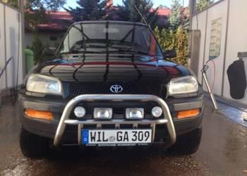 Toyota RAV 4 czarna,automat,rarytas ??????1995 rok.