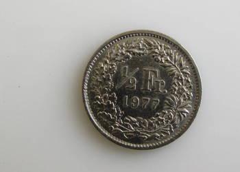 Moneta 1/2 Fr. Franka  Helvetia 1994 ( Szwajcaria )