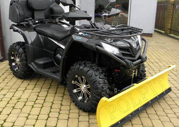 QUAD ATV CF MOTO CFORCE 520 EPS 4x4 + KUFER, PŁUG