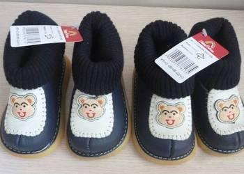 Nowe, skórzane buciki dla dziecka, rozmiar 22 i 23