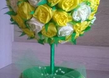 Zielone drzewko stroik, prezent na imieniny urodziny