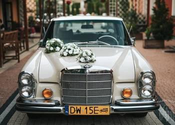 Zabytkowy, amerykański Mercedes na Ślub !