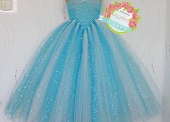 Sukienka Elza Kraina Lodu Frozen przebranie bal karnawał