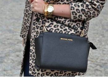 Michael Kors Selma Medium Messenger  nowa od reki