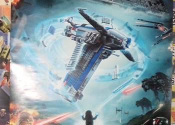 plakat Lego star wars gwiezdne wojny oryginalny nowy