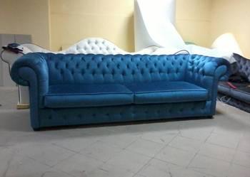 Szezlong Sofa Kanapa Pikowana Chesterfield funkcja spania