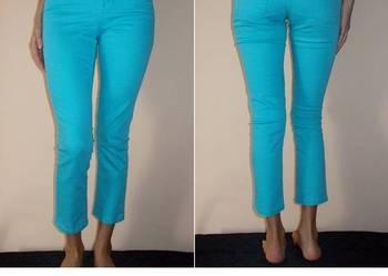 Spodnie jeansowe Cubus xxs 32 jeans rurki niebieskie błękitn