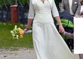 Suknia do ślubu cywilnego i kościelnego!