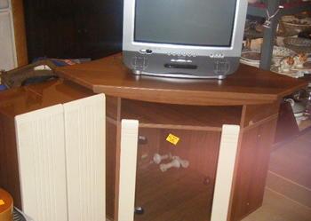 szafka RTV narożna + 2 szafki przyboczne