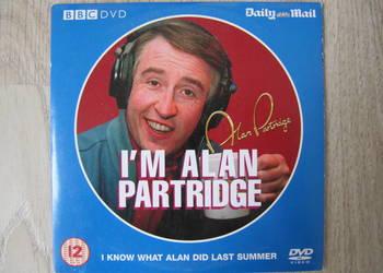 """Serial komediowy BBC na DVD """"I' am Alan Partridge"""" Mokotów."""