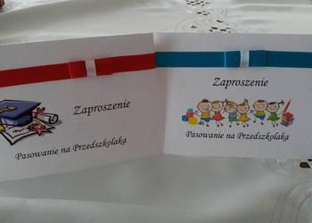 Zaproszenia Pasowanie na Przedszkolaka zaproszenie