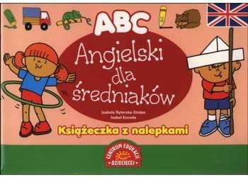 ABC. Angielski dla średniaków. Książeczka z nalepkami