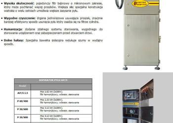 ASPIRATORY PYŁU - producent - Coffee Service
