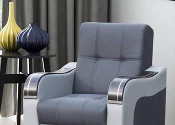 PROMOCJA stylowy fotel wypoczynkowy SALON drewno