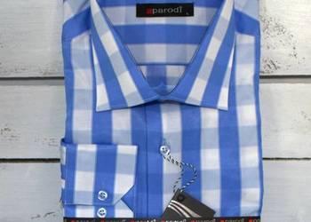 Koszule męskie klasyczny krój, paski, kratka,mały Hurt