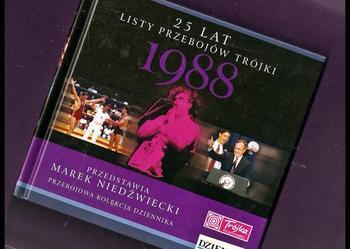 25 Lat Listy Przebojów Trójki  rok 1988 (książka + płyta)