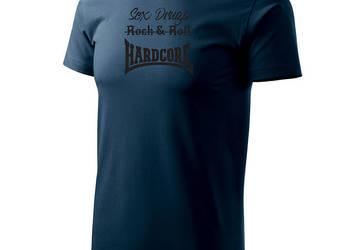 Koszulka z krótkim rękawem Sex Drugs Hardcore Gabber