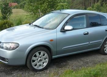 Sprzedam Nissan Almera 1.5dCi, 2005r., full opcja, komputer