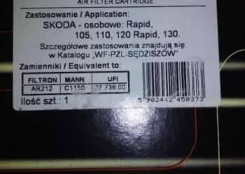 Filtr powietrza Skoda 105,110,120,130