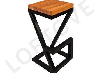 Krzesło barowe HOKER X - loft - industrial - od producenta