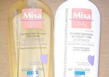 Mixa Baby - olejek do mycia i emulsja łagodząca Atopia