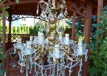 obserwuj Najpiękniejszy ŻYRANDOL KRYSZTAŁOWY LAMPA Zobacz!