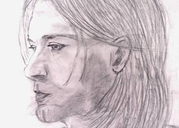 Kurt Cobain- portret