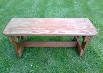 ławka ogrodowa ławeczka na ogród dla dieci i dorosłych