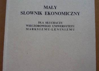 Mały słownik ekonomiczny - unikat!