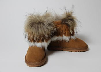 Buty ocieplane zimowe Eskimoski