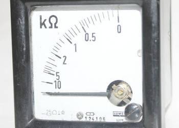 Kiloomomierz 10 - 0, 7,5 cm x 7,5 cm x 6, kiloohmomierze