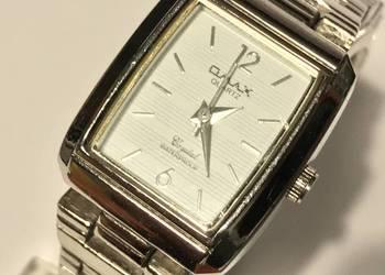 Zegarek damski OMAX HSJ694 SREBRNY bransoleta