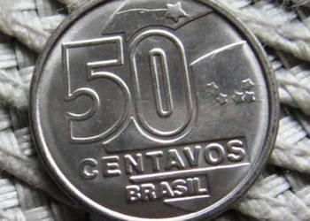 Brazylia 50 Centavos 1989r