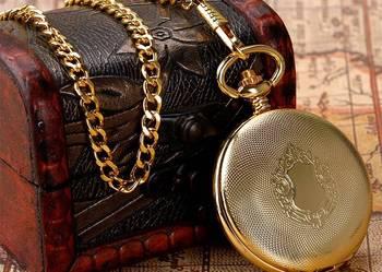 Zegarek kieszonkowy wyjątkowa replika złotego zegarka z1916r