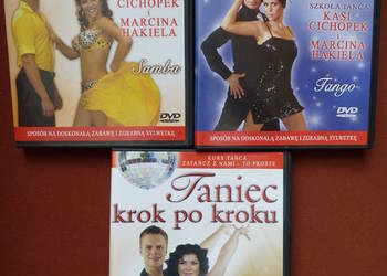 Zestaw Kurs tańca DVD taniec krok po kroku Cichopek Hakiel