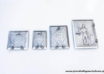 DRZWICZKI KOMINOWE rewizyjne aluminiowe | komin