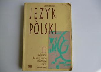 JĘZYK POLSKI III - Janina Dietrich